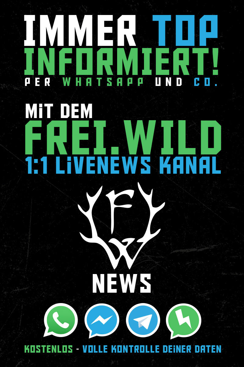 Freiwild News März 2017